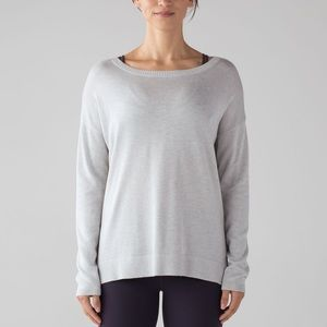 Worn once lululemon Well being sweater